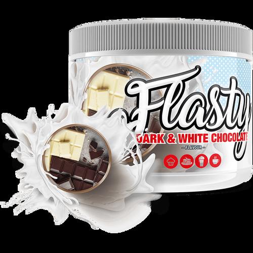 Flasty Dunkle & weiße Schokolade
