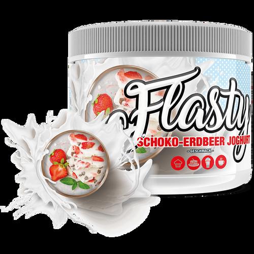 Flasty Schokolade Joghurt Erdbeere